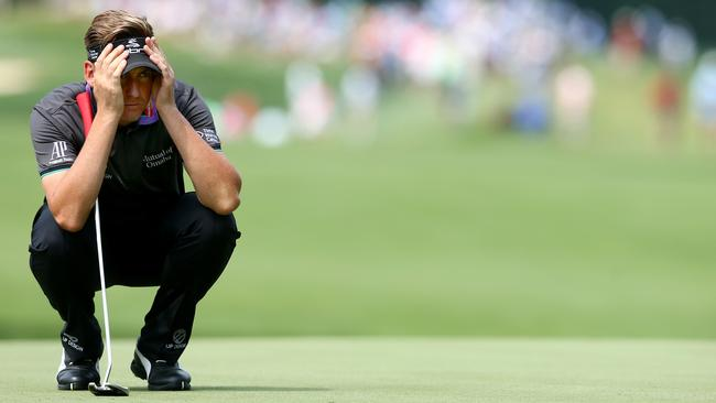 Ian Poulter couldn't hide from Twitter rage over his first-world problem tweet.