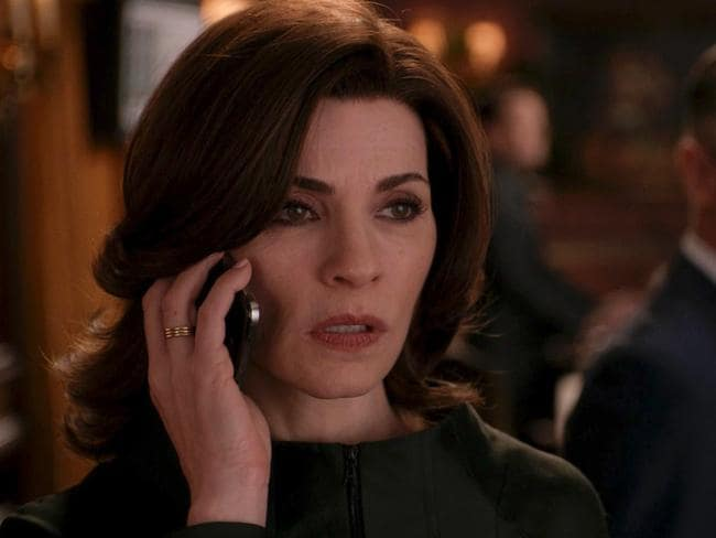 "Julianna Margulies, here as Alicia Florrick, says killing a cast member was a ""brilliant idea""."