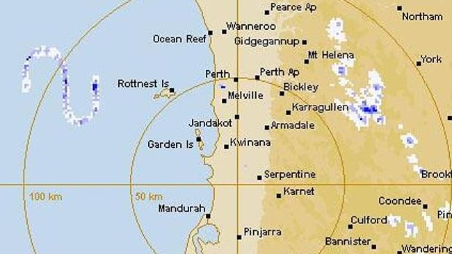 The S-shape was dubbed the 'Rott Nest monster' by local weather watchers. Picture: Supplied