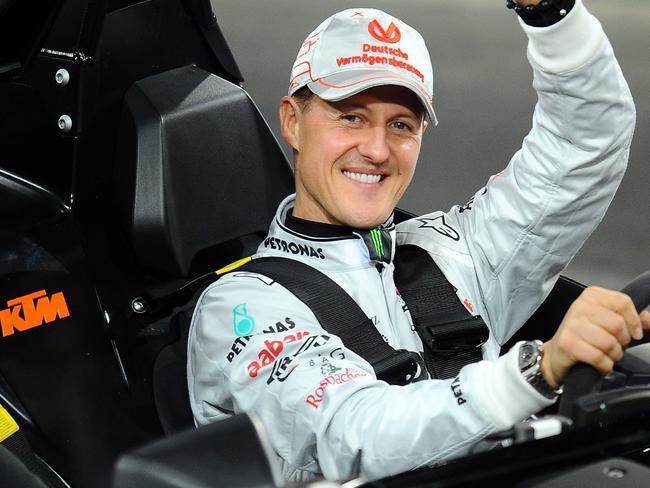 Mystery ... SWISS prosecutors say a man arrested in connection with the suspected theft of former Formula One champion Michael Schumacher's medical records has been found hanged in his cell.
