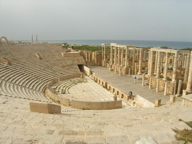 Theatre at Leptis Magna. Picture: Rob Glover