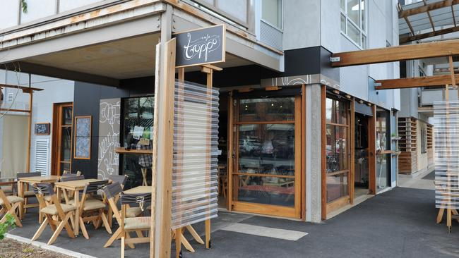 Cafe Troppo at 42 Whitmore Square, Adelaide ... a favourite of Jono's.