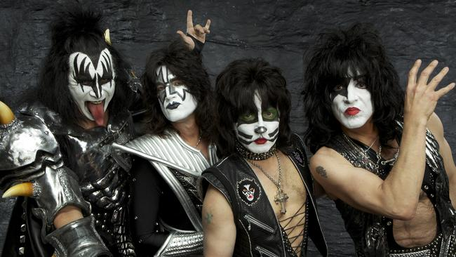 Current line-up ... Gene Simmons, Tommy Thayer, Eric Singer and Paul Stanley.