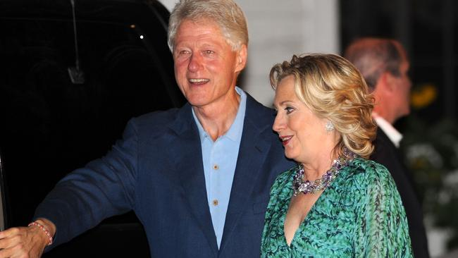 Abused: Bill Clinton was abused by his mother says Hillary. Photo: Bryan Bedder/Getty Images/AFP