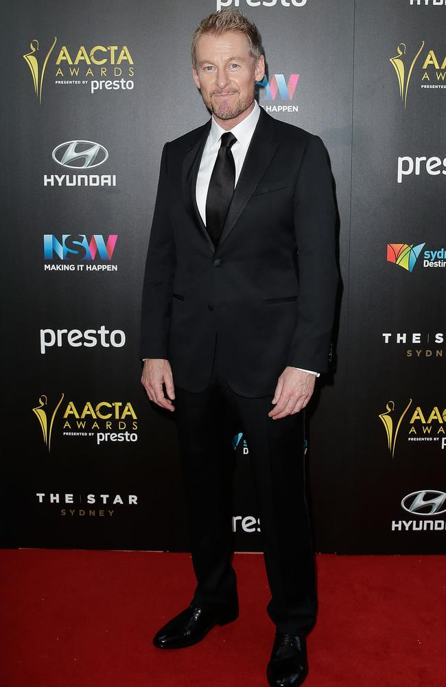 Richard Roxburgh arrives ahead of the 5th AACTA Awards Presented by Presto at The Star on December 9, 2015 in Sydney, Australia. Picture: Getty