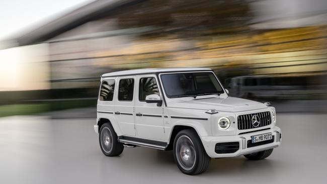 The 2018 Mercedes-Benz G63 AMG should be a blur. Picture: Supplied.