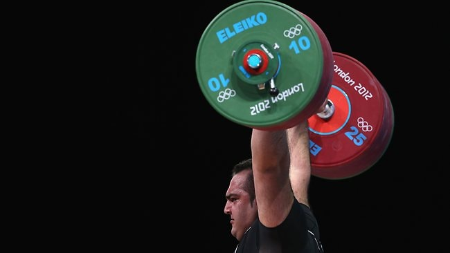 Wiinner ... Behdad Salimikordasiabi from Iran took out the gold medal.