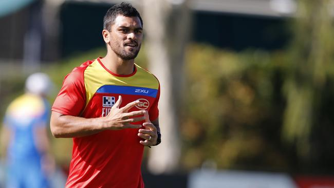 Karmichael Hunt is recalled to bolster the Suns midfield. Picture: JERAD WILLIAMS