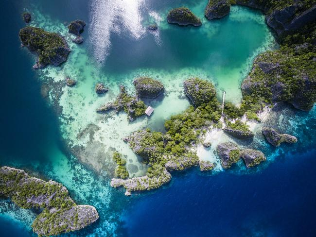 The beautiful islands of West Papua are mostly untouched. Picture: iStock.