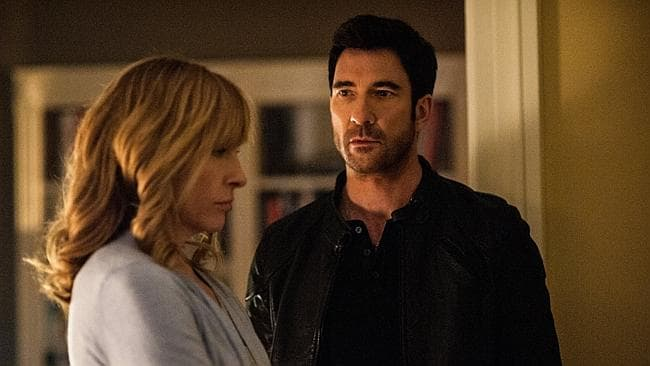 Hostages features Toni Collette and Dylan McDermott. Picture: Supplied
