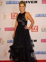 Georgie Gardner during the Red Carpet Arrivals ahead of the 56th TV Week Logie Awards 2014 held at Crown Casino on Sunday, April 27, 2014 in Melbourne, Australia. Picture: Jason Edwards