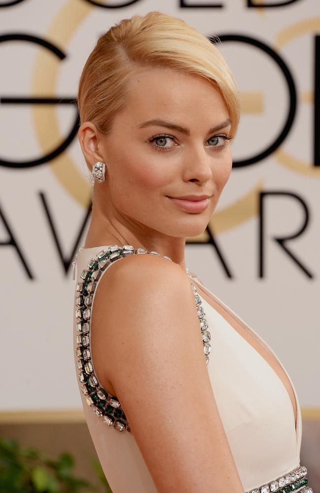 Golden girl ... from Ramsay Street to Scorsese, Margot Robbie's star continues to rise.