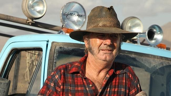 Moronic gimmick ... John Jarratt's Mick Taylor in Wolf Creek 2.
