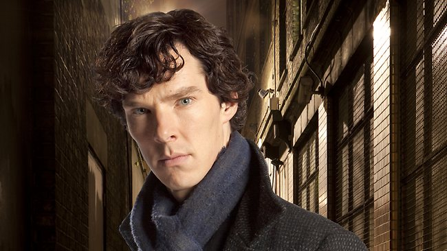 'Sherlock' star Benedict Cumberbatch portrays says you can't start believing in your own press. Picture: AP Photo/PBS