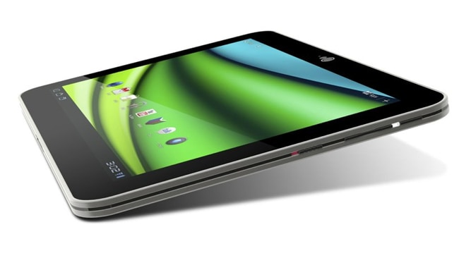 The Toshiba EXCite X10t. Picture: Courtesy of Toshiba