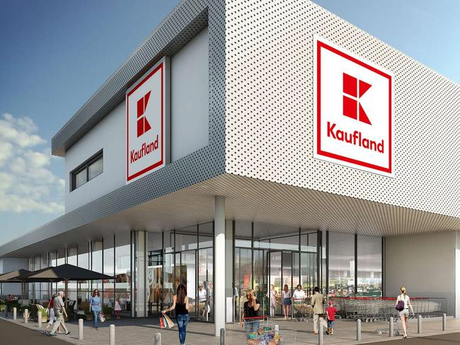 Artist's impression of the Kaufland supermarket off Anzac Hwy, Forestville.