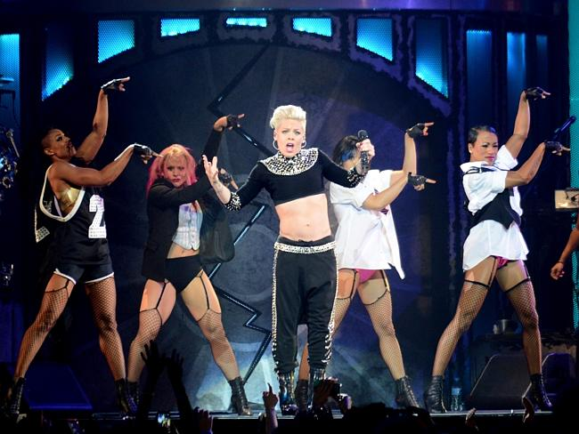 Singer Pink came out on top. Picture: Supplied