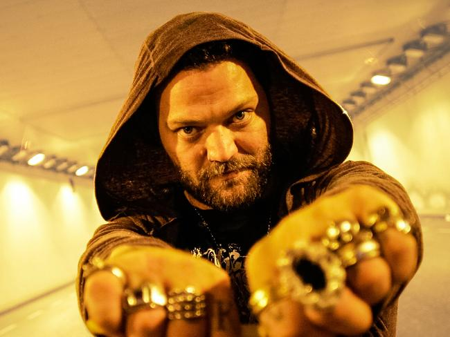 Former Jackass star Bam Margera battled bulimia in the early 2000s. Picture: Supplied