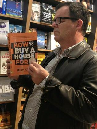 with Rick Otton, pictured reading his own book. Picture: Rick Otton / Facebook