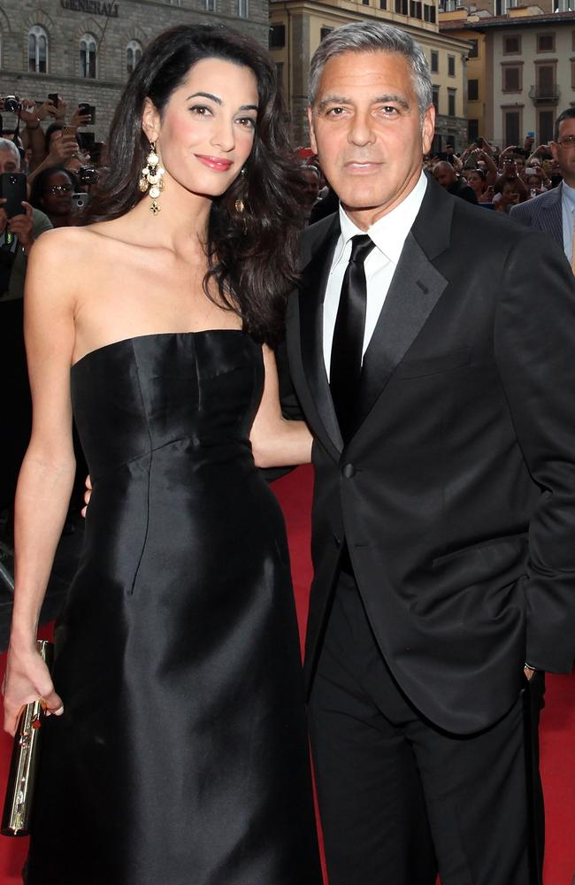 Stylish ... George Clooney married Amal Alamuddin on September 27, 2014 in Venice, Italy. Picture: Getty