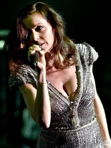 Tina Arena in rehearsals for her tour. Picture: Jay Town
