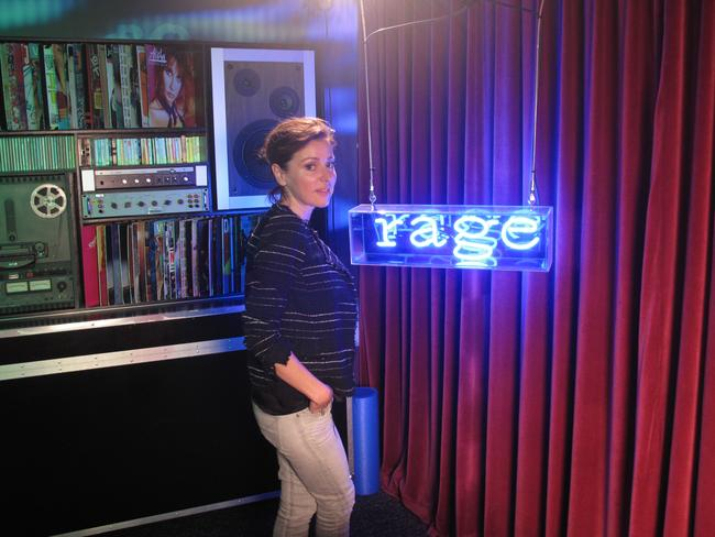 Rage isn't just alternative: Tina Arena during her guest programming slot