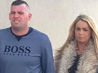 BEST QUALITY AVAILABLE Craig Smith and Daniella Hirst arriving at Scarborough Magistrates Court today where they are due to be sentenced after the couple had sex in a pizza delivery shop as staff worked on the other side of the counter.. Picture date: Tuesday October 17, 2017. See PA story COURTS Pizza. Photo credit should read: Dave Higgens/PA Wire