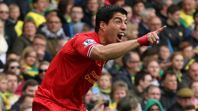 Liverpool's Luis Suarez had been so good on the field this year.