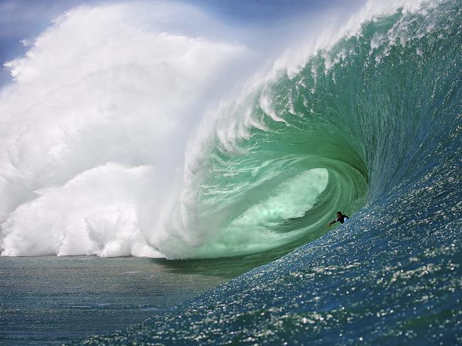 The world's most deadliest wave. Picture: Ted Grambeau.