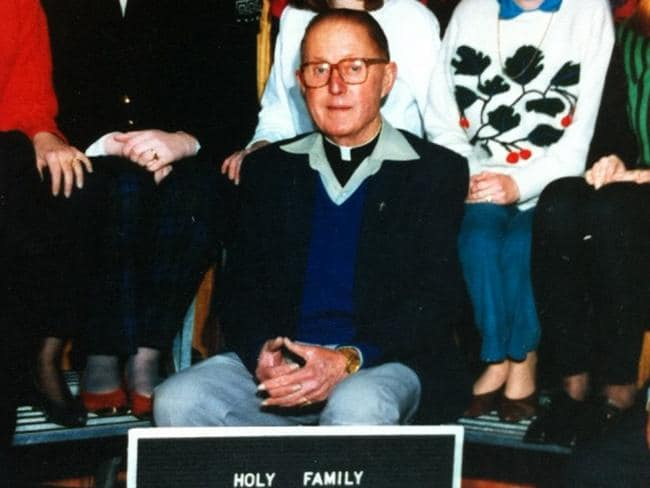 Despite knowingly committing sexual offences against boys and girls, Peter Searson was a priest for 35 years before he was charged with physical assault. Picture: Supplied