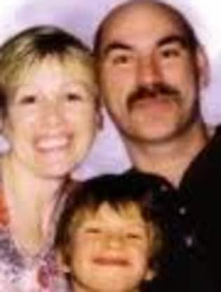 Debra and Marc Richardson with Jacob. Picture: Calgary News