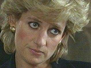 "FILE ** Diana, Princess of Wales during an interview aired on the BBC TV program Panorama Nov 20 1995. The Princess said she desperately wanted her marriage to work and the problems of /media pressure and her husband's infidelity caused her to ""escape"" in binges of eating and vomiting. (AP PicBBC, Panorama) sad headshot royalty Britain - Diana died 31 Aug 1997 in a car crash in Paris"