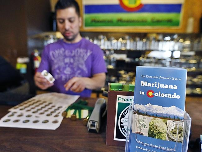 Colorado made recreational use of marijuana legal on January 1.