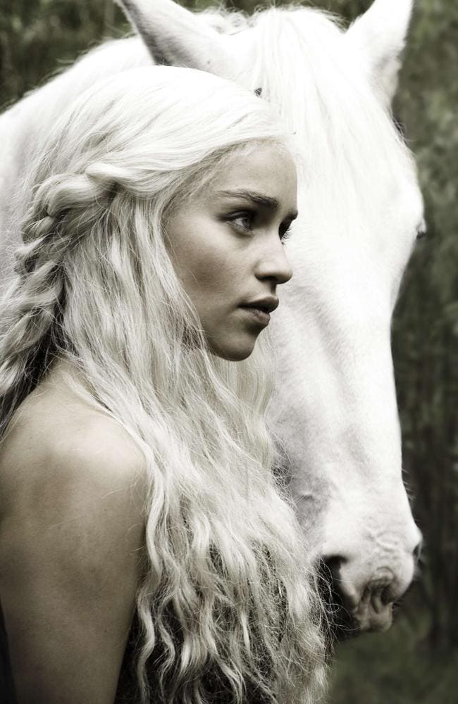 Daenerys Targaryen in  <i>Game Of Thrones </i>