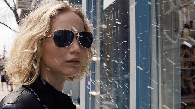 Jennifer Lawrence in a scene from Joy. Lawrence was nominated for an Oscar for best actor on January 14. The 88th annual Academy Awards will take place on February 28 in Los Angeles. Picture: AP