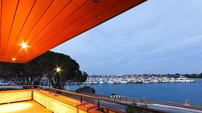 WATCH the sunrise over the yacht club at Applecross in Western Australia. Picture: supplied realestate.com.au