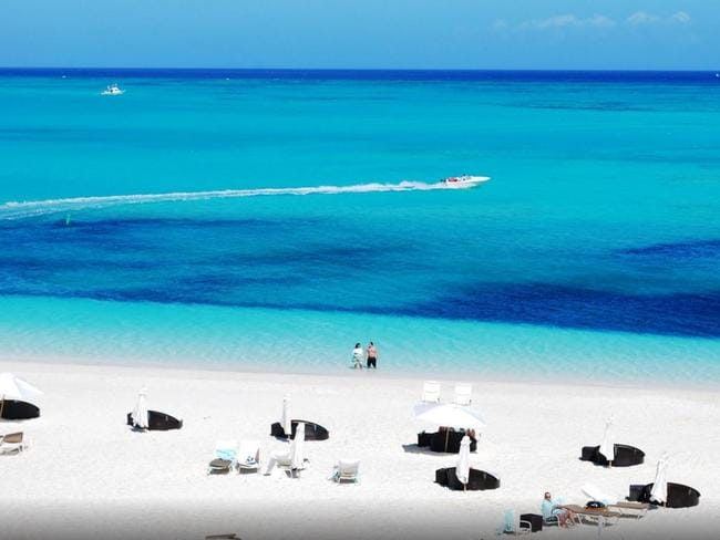 Grace Bay in Providenciales, Turks and Caicos, has been voted the world's best beach. Picture: TripAdvisor