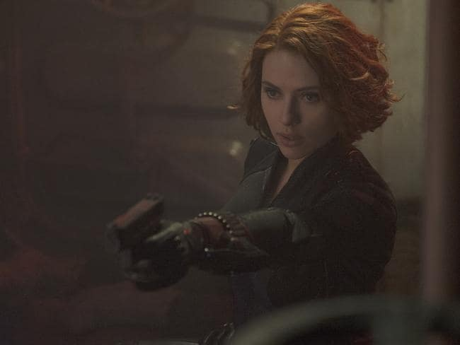 Johansson in  <i>Avengers: Age Of Ultron</i>. Photo: Jay Maidment