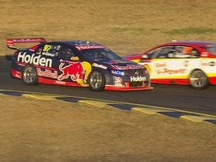McLaughlin penalised further for Race 17 tangle.