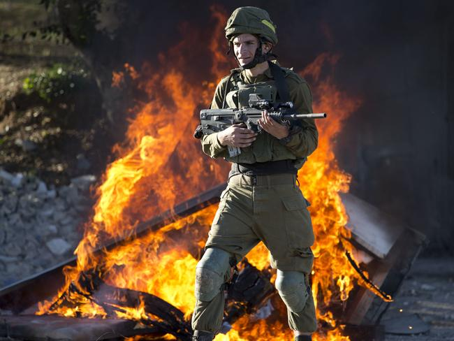 Israeli soldiers have been involved in clashes with Palestinian protesters. Picture: AP