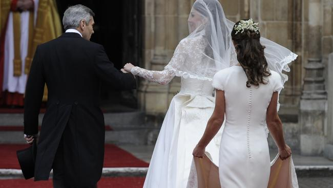 Pippa's backside received a lot of attention at the Royal Wedding.