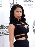 Nicki Minaj wears Alexander McQueen as she attends the 2014 Billboard Music Awards. Picture: Getty