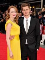 Actors Emma Stone and Andrew Garfield have everyone guessing as to whether they are or aren't an item after they announced they were on a break this year. Recently they've been photographed looking especially domestic fuelling rumours they'd patched things up. Phew! Picture: Getty