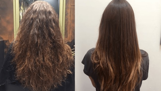 Keratin Bhave Treatment No More Styling Straight Hair