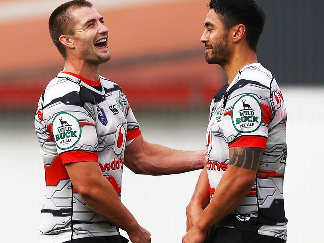 Kieran Foran talks and Shaun Johnson are both off contract this year.