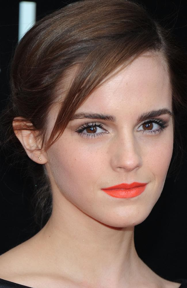 British actress Emma Watson.