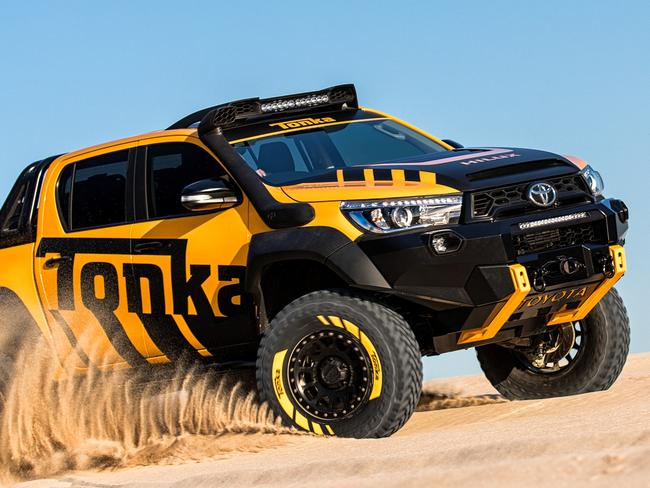 Toyota releases the Tonka truck