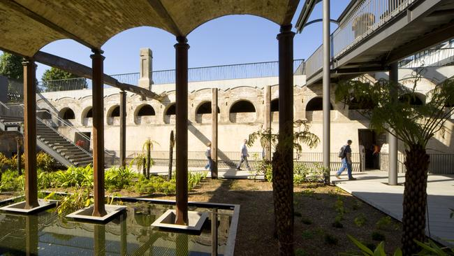 Paddington Reservoir Gardens, the former source of Sydney's potable water, will play host to the H@O: Water Bar.