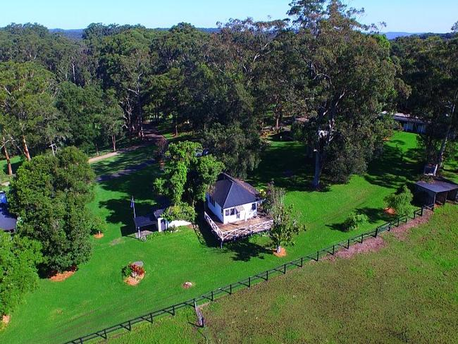 The 24ha property is a rural oasis nestled away between the suburban neighbourhoods of Avoca Beach and Kincumber.