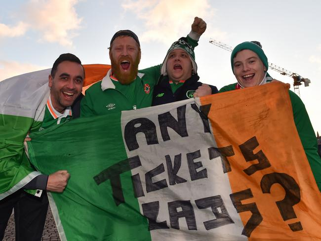 Tickets? (Photo By Ramsey Cardy/Sportsfile via Getty Images)